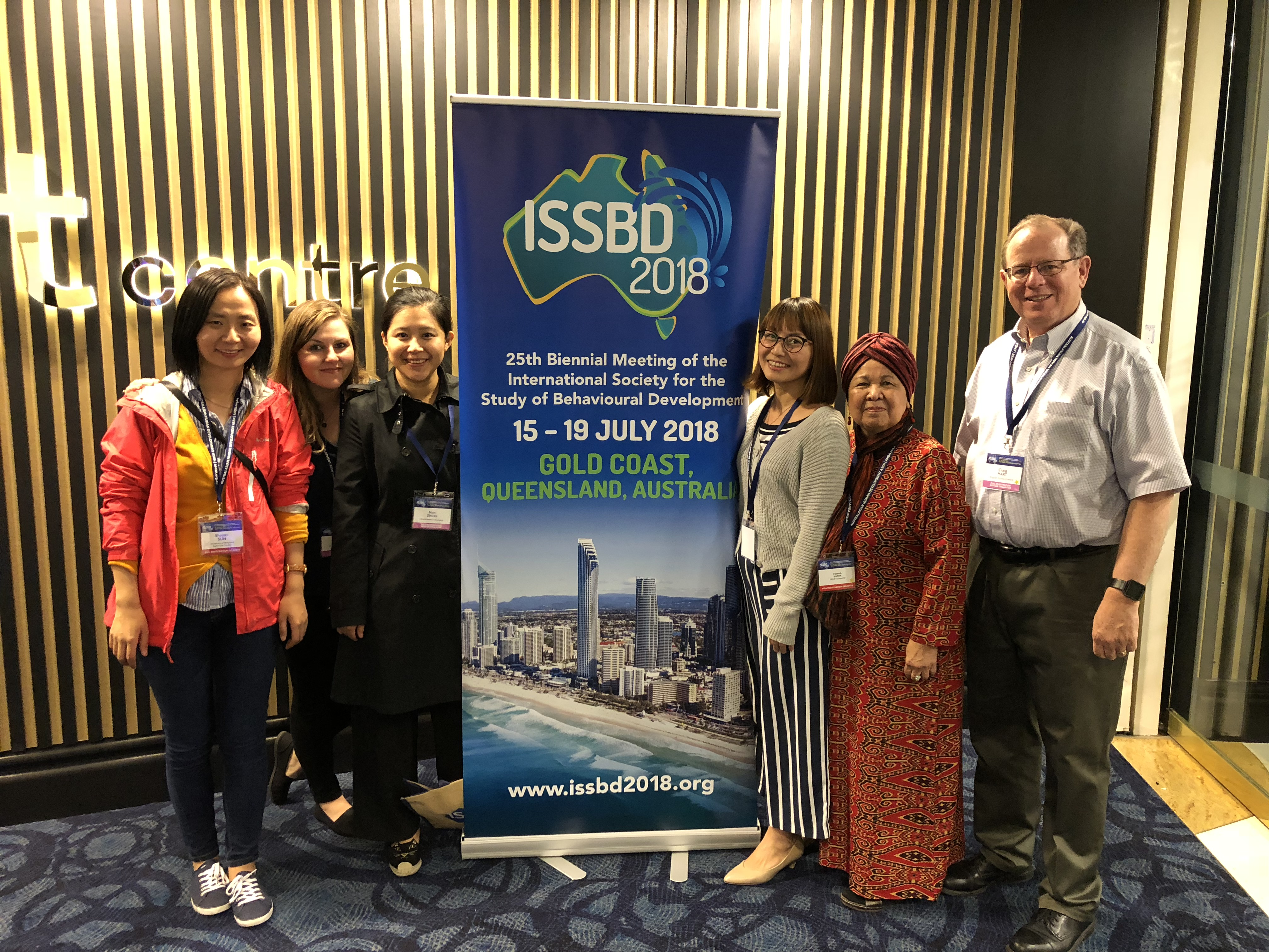 ISSBD 2018 in Gold Coast, Australia