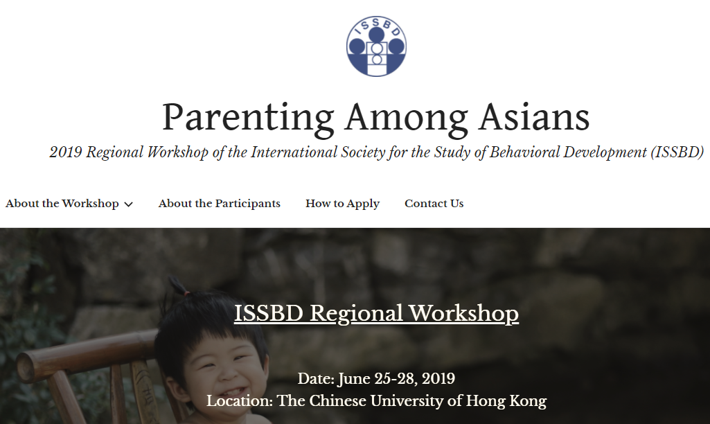 Dr. Cheah Spoke at the 2019 ISSBD Regional Workshop