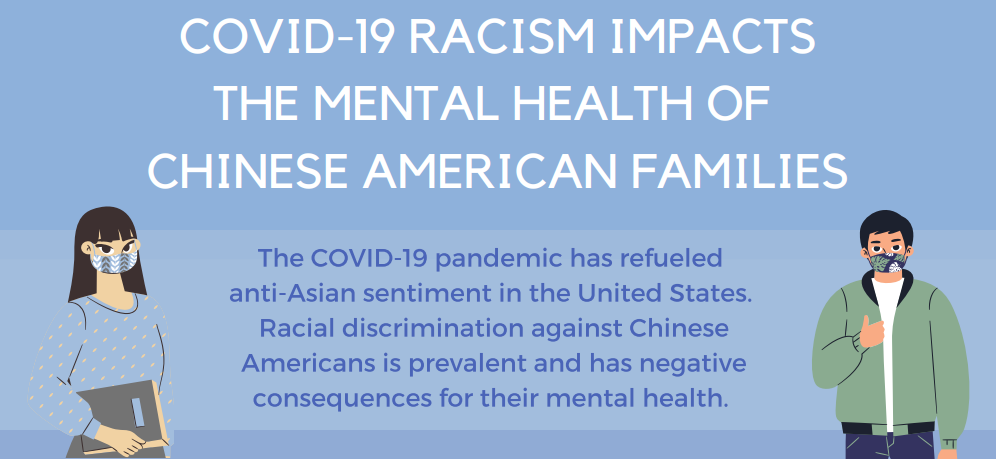 COVID-19 Racism Impacts the Mental Health of Chinese American Families
